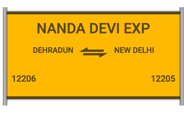 NANDA DEVI EXP - 12206 Train Schedule