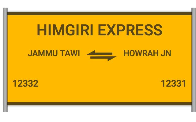 Train running status in kashmir