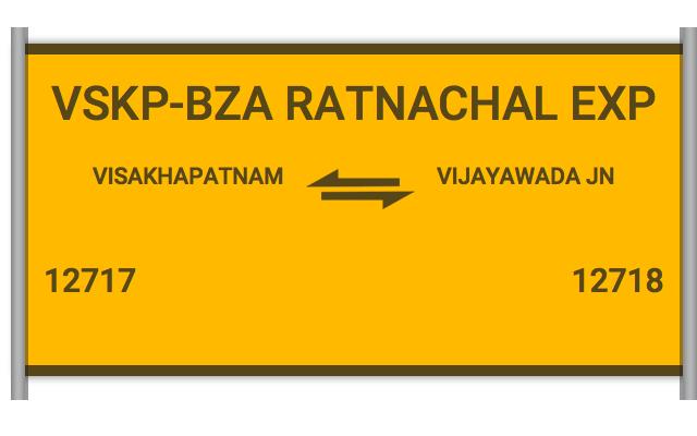 RATNACHALAM EXP - 12717 Train Schedule