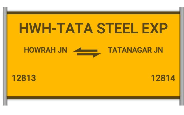 STEEL EXPRESS - 12813 Train Schedule