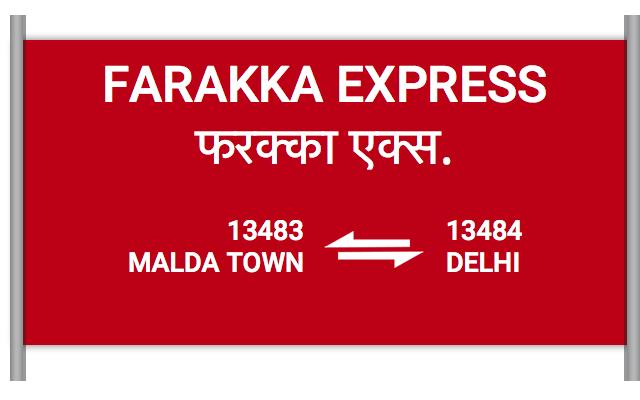 FARAKKA EXPRESS - 13483 Train Schedule