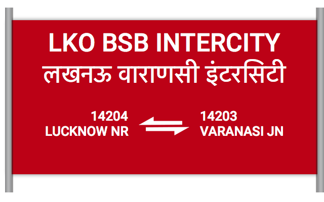 LKO BSB INTERCITY (14204) Route, Time Table, Schedule