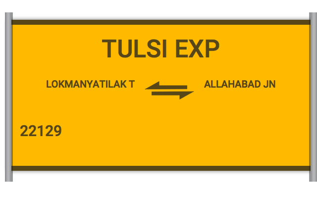TULSI EXP (22129) Route, Time Table, Schedule